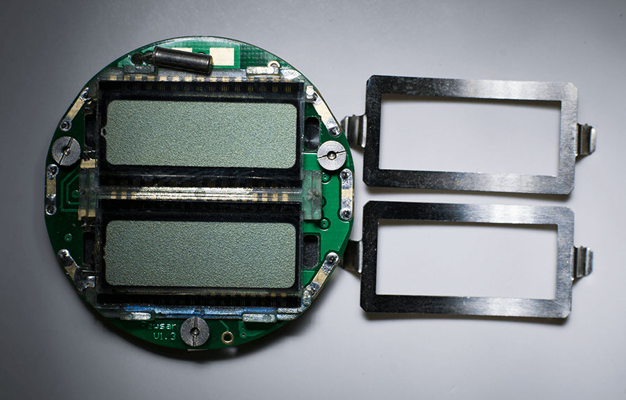 Repaired Chronosplit LCD LCD with new Rawsar displays